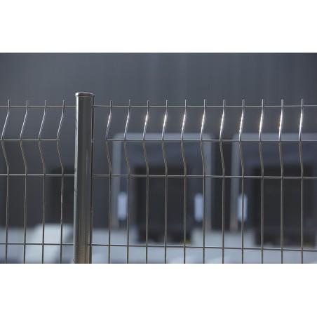 GRILLAGE PANNEAU GRIS 1.23MX2M M.50X200 D4MM DIRICKX
