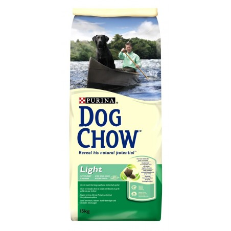 ALIMENT CHIEN DOG CHOW LIGHT 15KG