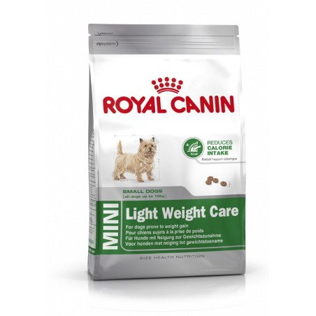 ALIMENT CHIEN MINI LIGHT WEIGHT CARE 4KG