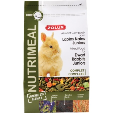 ALIMENT LAPIN JUNIOR NUTRIMEAL 800 G