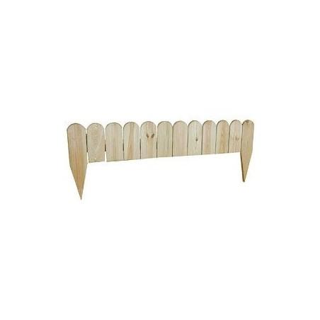 BORDURE BOIS PIN H 20CM LG 110