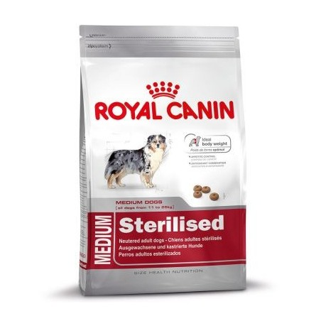 ALIMENT CHIEN MEDIUM STERILISED 12 KG