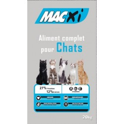 ALIMENT CHAT MACXI COMPLET 27/12 20KG