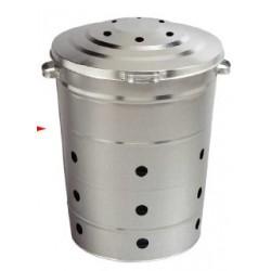 Bac multi-usages galvanisé 80L
