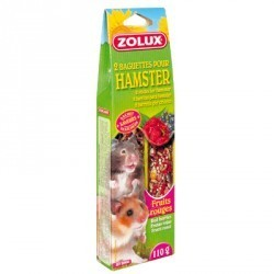 BAGUETTES HAMSTER FRUITS ROUGES