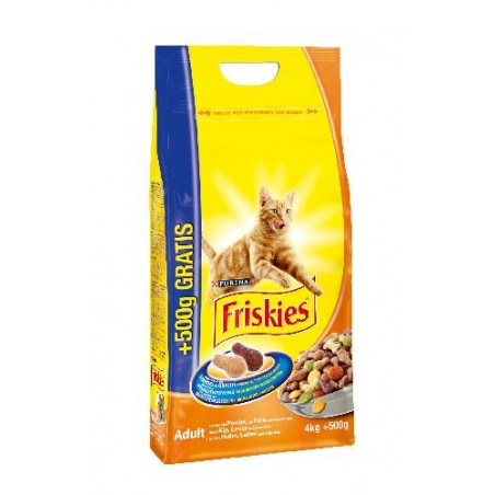 ALIMENT CHAT FRISKIES VITALITY+ POULET 4KG