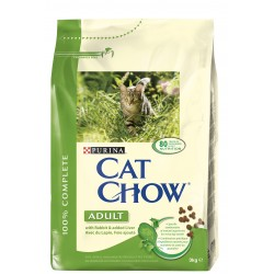 ALIMENT CHAT CAT CHOW ADULT LAPIN + FOIE 3KG