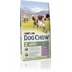DOG CHOW ADULT LAMB & RICE 14KG