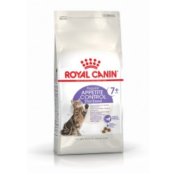 ALIMENT CHAT APPETITE CONTROL STERILISED 7+ 1,5KG