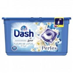 LESSIVE DASH PERLES 38 DOSES FLEUR DE LYS (1.1KG