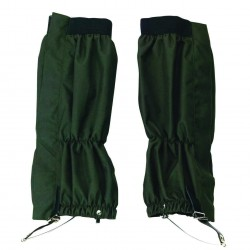 GUETRES CHASSE 100  POLYESTER KAKI