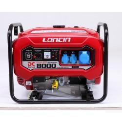 GROUPE ELECTROGENE LONCIN 8000D-DCS DEM.ELECT. S/BATT.