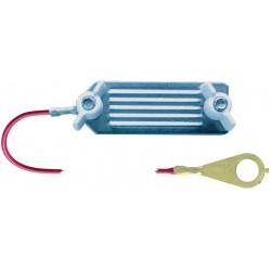 CONNECTEUR INOX A VIS RUBAN 40MM 130CM
