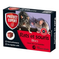 SOURICIDE RATICIDE BLOCS