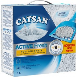 LITIÈRE ACTIVE FRESH CATSAN 5L