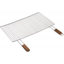 GRILLE CHROMeE SIMPLE 57X30 CM