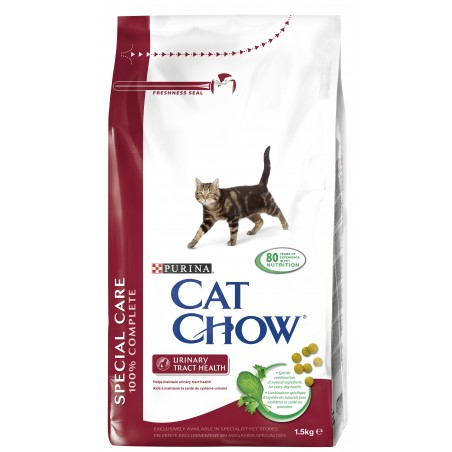 ALIMENT CHAT CAT CHOW SPECIAL SYSTEM URINAIRE 1.5K