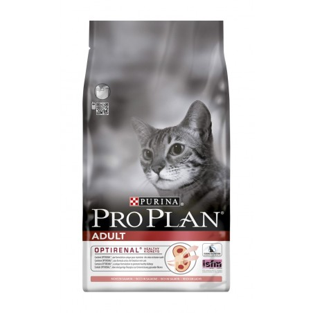 ALIMENT CHAT PRO PLAN CAT ADULT SAUMON ET RIZ 1.5KG