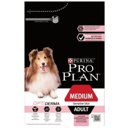 CROQUETTES PROPLAN CHIEN MEDIUM ADULT S. SKIN 14KG PURINA