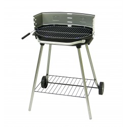 BARBECUE CHARBON ATHENES CHARIOT 51X33CM