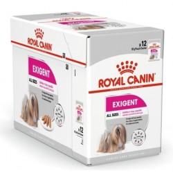 CROQUETTES CHIEN EXIGENT MOUSSE 12X85G ROYAL CANIN
