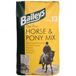 ALIMENT CHEVAL FREE HORSE  PONY MIX N13 20KG