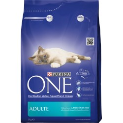 ALIMENT CHAT ADULTE PURINA POISSON CEREALES 3KG