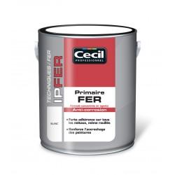 PRIMAIRE PEINTURE FER GLYCERO GRIS CLAIR 0.5L
