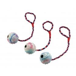 Balle avec corde