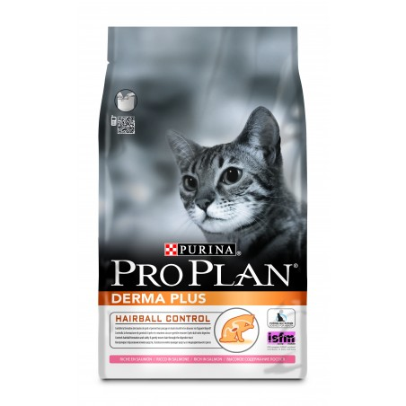 CROQUETTES CHAT PRO PLAN DERMA PLUS 3KG PURINA