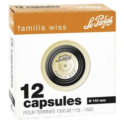 CAPSULES FAMILIA WISS D.110mm X12