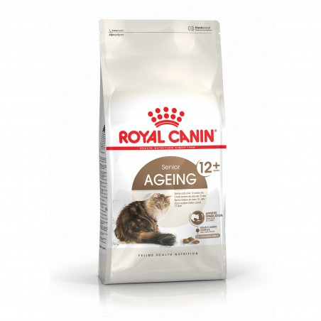 CROQUETTES CHAT AGEING 12+  4KG ROYAL CANIN