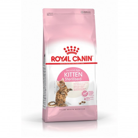 CROQUETTES CHAT KITTEN STERILISED 2KG ROYAL CANIN