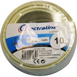 CABLE PTT 298 IVOIRE 10M