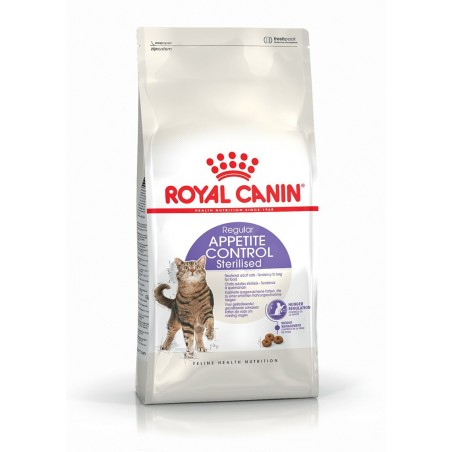 CROQUETTES CHAT APPETITE CONTROL STERILISED 2KG ROYAL CANIN