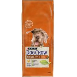 CROQUETTES DOG CHOW MATURE ADULT POULET 14KG