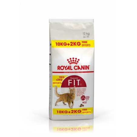 CROQUETTES CHAT FIT32 10KG + 2KG ROYAL CANIN