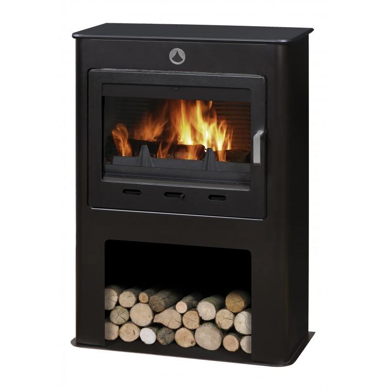 poele a bois deville grand saphir 9kw buche 55cm p le vert cugnaux. Black Bedroom Furniture Sets. Home Design Ideas