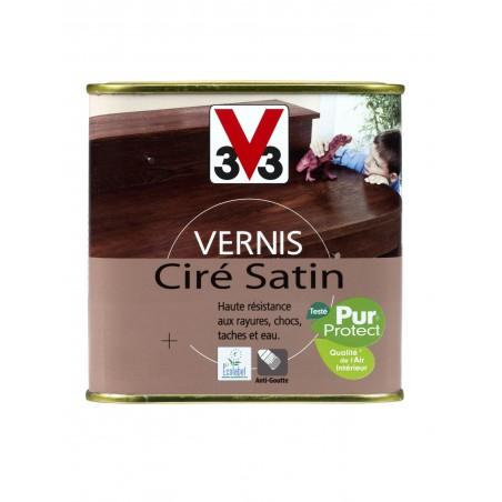VERNIS INCOLORE SATIN CIRE 0.25L