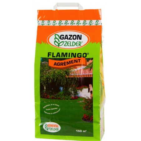 GAZON RUSTIQUE ET AGREMENT FLAMINGO 5KG