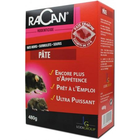 PATE RAT SOURIS DIFE. 480G RACAN