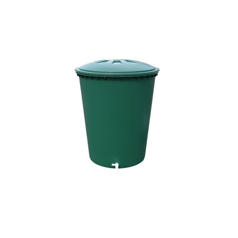 cuve a eau cylindrique 310l vert couvercle robinet p le vert cugnaux. Black Bedroom Furniture Sets. Home Design Ideas