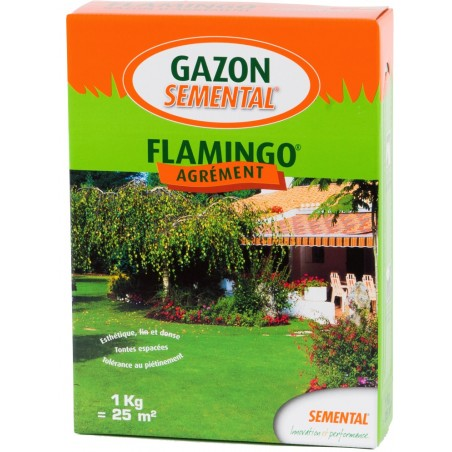 GAZON RUSTIQUE ET AGREMENT FLAMINGO 1KG