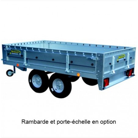 REMORQUE BAG.TV254E750 257X142X43 PTAC 750KG