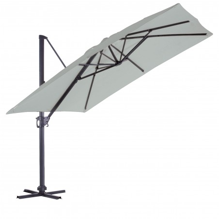 PARASOL DEPORTE LUXE KING CARRE 3X3M PERLE