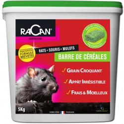 BARRE CEREALES RAT SOURIS MULOT ESP. DIFF. 5KG