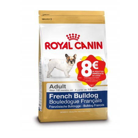 ALIMENT CHIEN FRENCH BULLDOG ADULT 9 KG