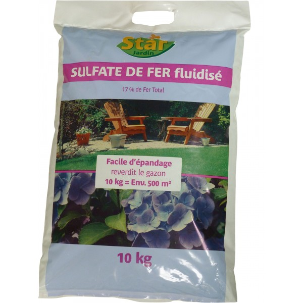 Sulfate de fer 10kg fluidise p le vert cugnaux - Sulfate de fer pelouse ...