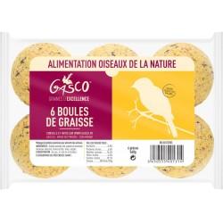 BOULE DE GRAISSE  X6  90G