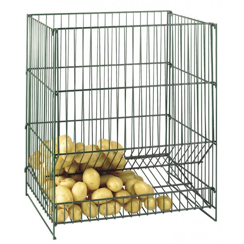 resserre pommes de terre 100 kg l72cm h62cm p44cm p le vert cugnaux. Black Bedroom Furniture Sets. Home Design Ideas